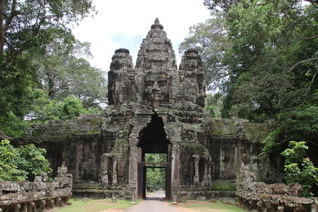 Preah Khan temple gate