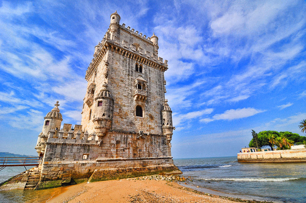 Belem Tower Colorful