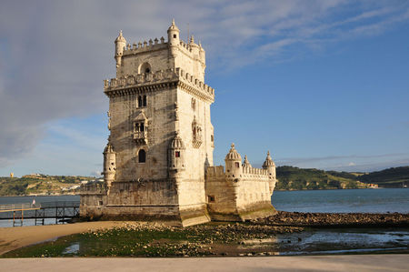 Belem Tower Sunlight