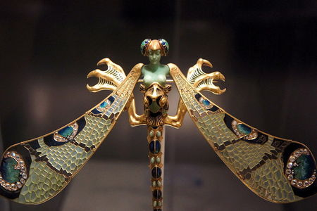 Dragonfly Woman Corsage Ornament at Calouste Gulbenkian Museum