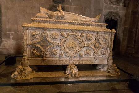 Tomb of Vasco da Gama Jeronimos Monastery