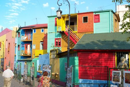 Brightly Colored Houses