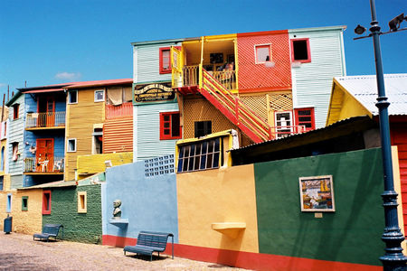 La Boca colorful houses