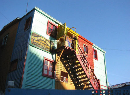 La Boca Red Stairs