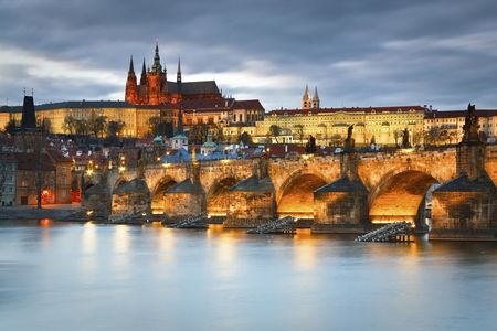 Prague Castle Complex and Charles Bridge