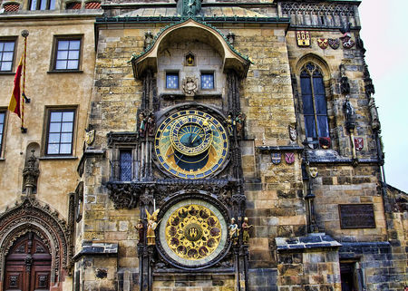 Prague Astronomical Clock Tower