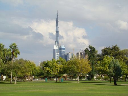 Dubai Tower from Safa Park