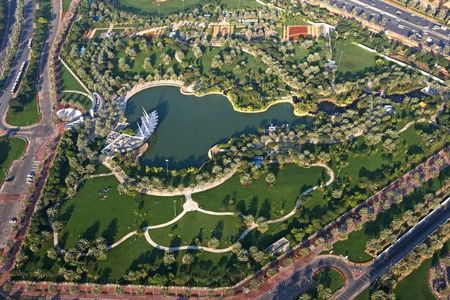 Safa Park Bird's Eye View