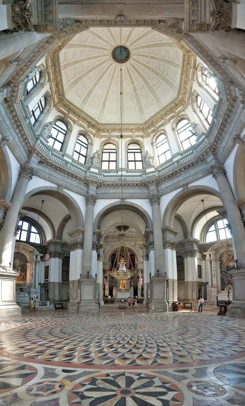 Inside View Of The Santa Maria della Salute