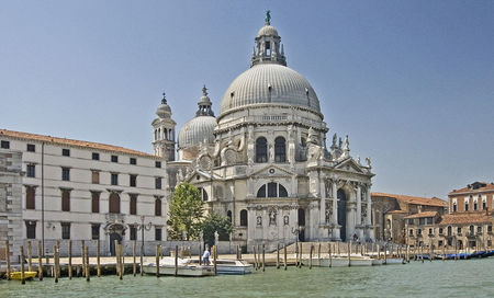 Saint Mary of Health on the Grand Canal
