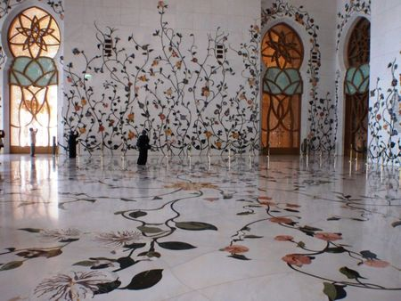 Sheikh Zayed Grand Mosque Interior