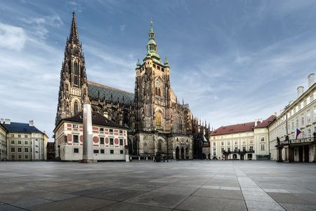 Prague Castle and St. Vitus Cathedral Exterior