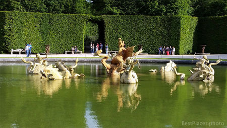 Versailles The Dragon Fountain