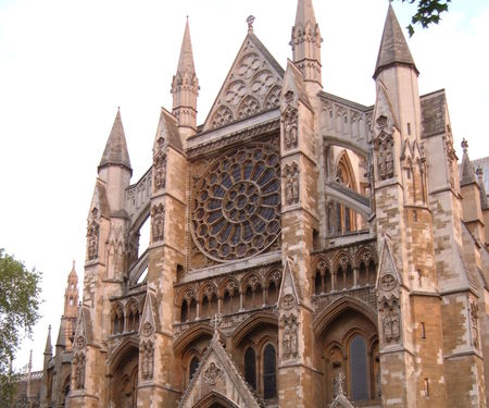 Westminster Abbey north entrance hd