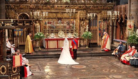 Westminster Abbey wedding