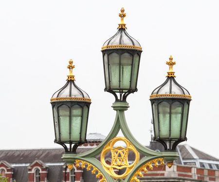 London Westminster Bridge Street Lamp